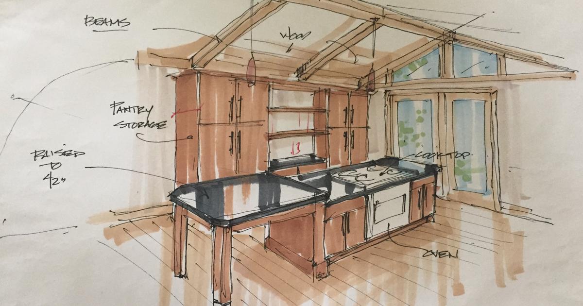 Left Side of the Lovely Kitchen