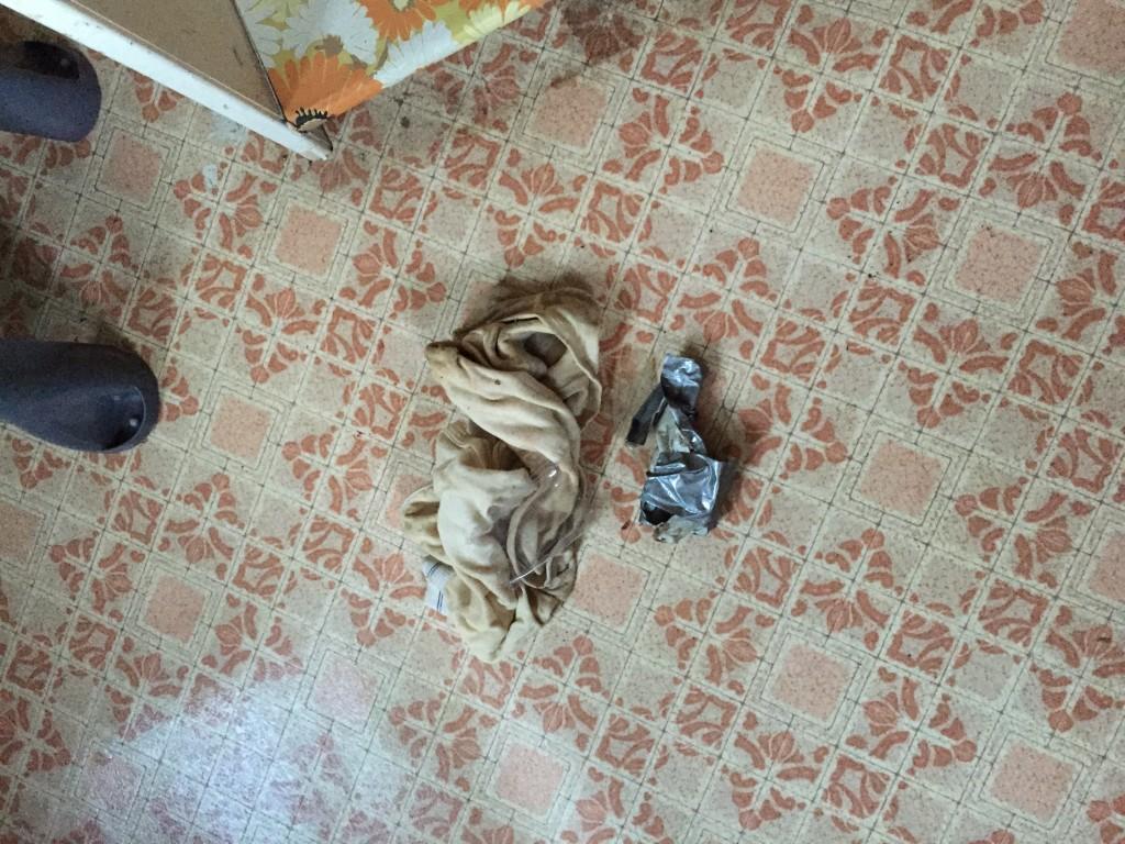 filthy old undies